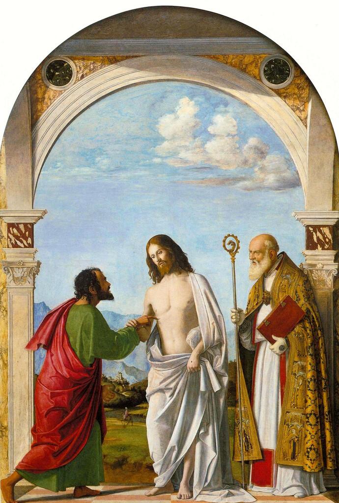 復活のイエスとトマス